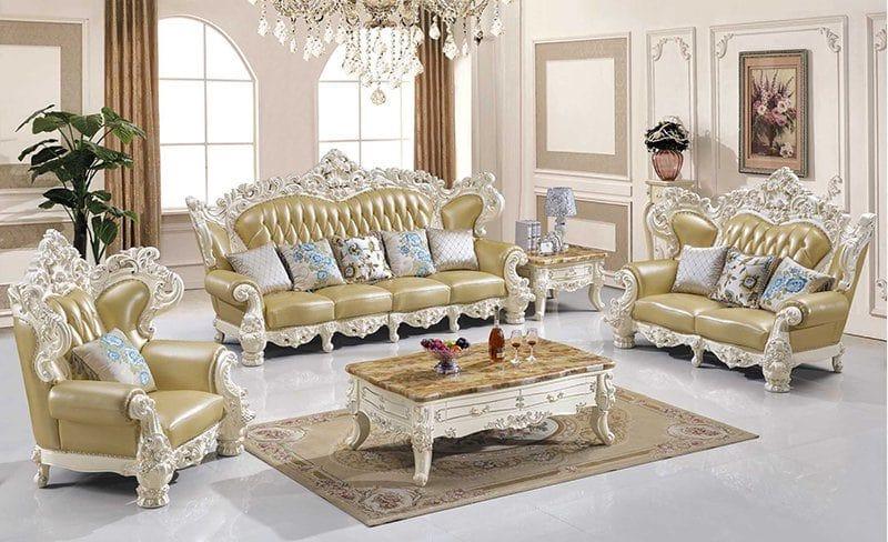 Ưu điểm không thể bỏ qua của dòng ghế sofa tân cổ điển